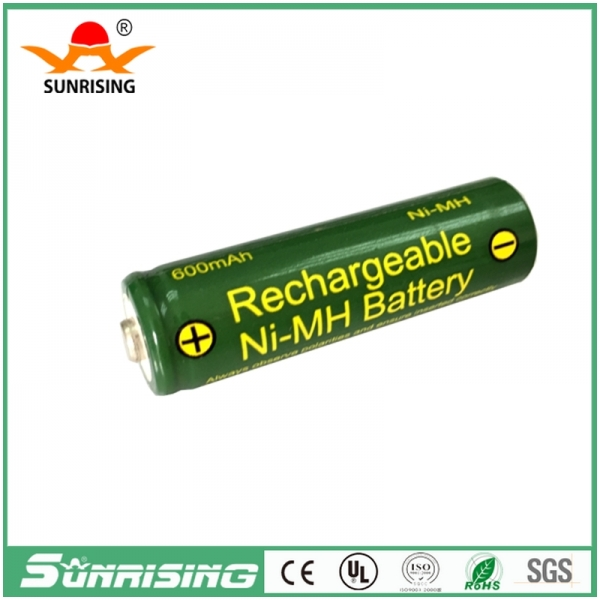 OEM NIMH AA 600MAH Button Top Battery