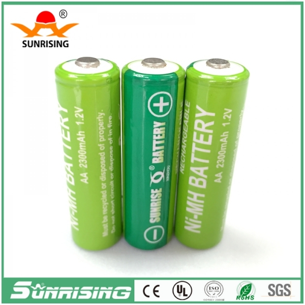 OEM NIMH AA 2300MAH Buttton Top Battery