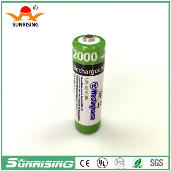 OEM NIMH AA 2000MAH Button Top Battery