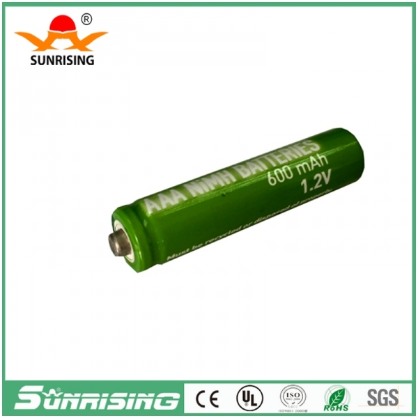 OEM NIMH AAA 600MAH B2 Button Top Battery